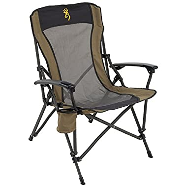 Browning Camping Fireside Chair-Gold Logo