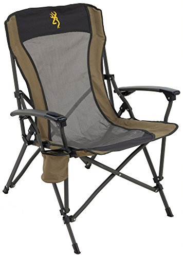 (Browning Camping Fireside Chair-Gold Logo )