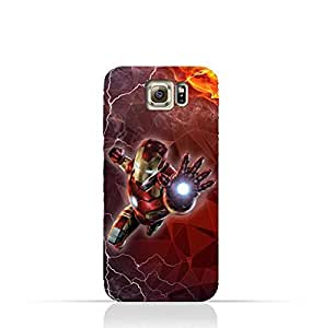 Samsung Galaxy S6 TPU Silicone Protective Case with Iron Man Design