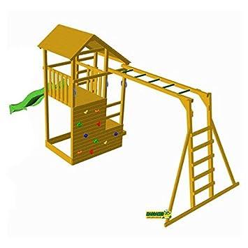 Escalera Teide Masgames MonoAmazon es Parque Infantil Con De 8nXZwOPN0k