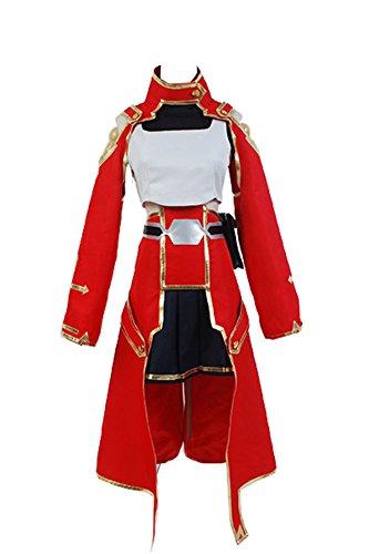 Sword Art Online Cosplay Costume Silica Keiko Ayano Battle Suit Uniform (Cosplay Shop Online)