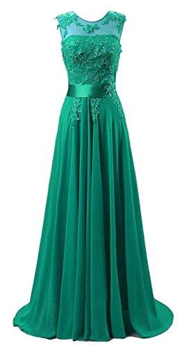 emerald beaded dress - 2