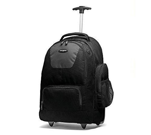 Samsonite Wheeled Computer Backpack Black/Charcoal