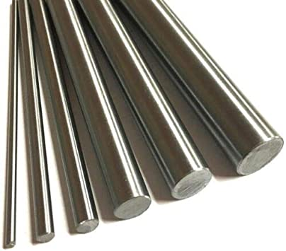 """1//4/""""  Stainless Steel Rod Bar Round 304   50 Pcs   1/"""" Long"""