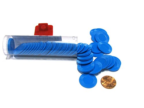 Koplow Mini Poker Chips - Blue