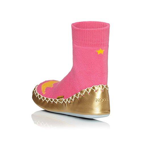 Mokassins Frauen Leder Prinzessin Socken Daddy Moccis Hausschuhe Rq11fIB