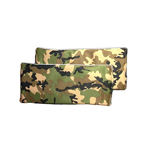 Barkerwear Barkertime Reusable Dog Diaper Liners - Camo Reusable Diaper Liners ? The Super Soaker - Value 2 pack - xxl for Use with Washable Dog Diapers, Britches, Belly Bands, Male Wraps by Barkerwear