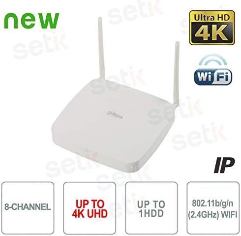 /nvr2108-w-4ks2/ /NVR 8/canales IP WiFi Dahua 4/K 8/MP 80mbps h.265/ Dahua Europe/
