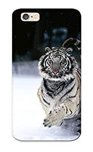 Ea3d1015776 Standinmyside Awesome Case Cover Compatible With Iphone 6 - Animals Tigers White Tiger