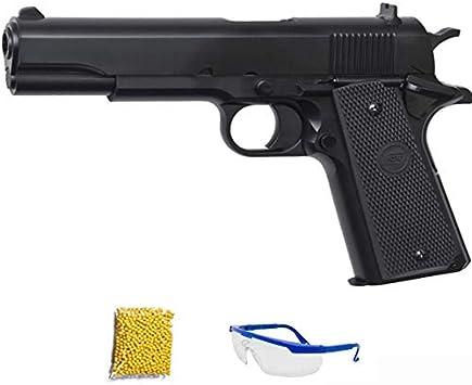STI M1911 classic ASG Negra.Pistola de Airsoft Calibre 6mm (Arma Aire Suave de Bolas de plástico o PVC). Sistema: Muelle. <3,5J