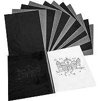 LuLyL 50 STKS Carbon Copy Paper, Zwart Transfer Papier voor tracing Papier op Hout, Stof Tattoo Template Kopie…