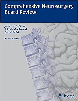 Comprehensive Neurosurgery Board Review por Jonathan Stuart Citow epub