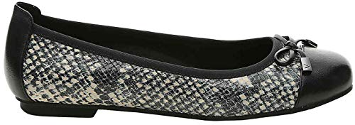 Grey Womens Snake Leather Vionic 359 Minna Shoes Gris Yqxd6W