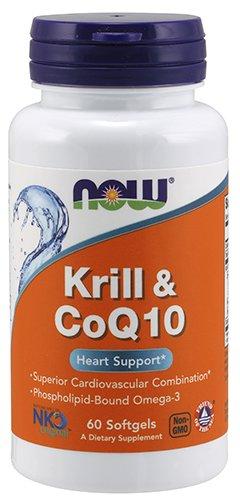Now Foods Neptune Krill & CoQ 10, 60 Softgel