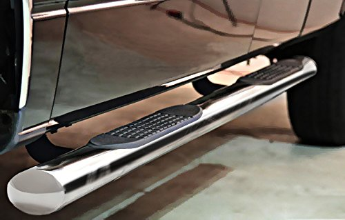 Mifeier Side Step Nerf Bar Running Boards For 02-08 Dodge Ram 1500 03-09 Ram 2500/3500 Quad/Crew Cab (With2 3/4 Size Rear Door) Pickup 4