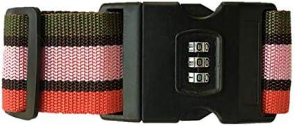 أحزمة تتحمل العمل الخشن لتثبيت حقائب السفر قابلة للفك والتعديل طويلة ومتقاطعة لتثبيت وإحكام حقائب السفر ذات العجلات