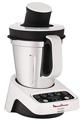 Moulinex hf4041 volupta Robot de cocina multifunción con cocción, 5 programas automáticos para pasta, platos al vapor…