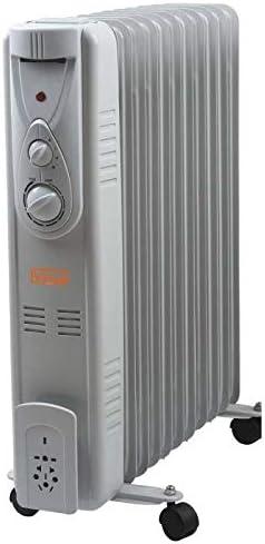 estufa electrica de aceite/Radiador oleodinamico 11 Elementos 2500 ...