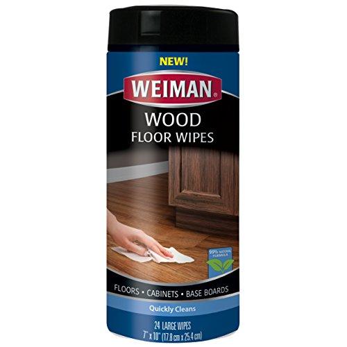 Weiman Wood Floor Wipes Baseboards