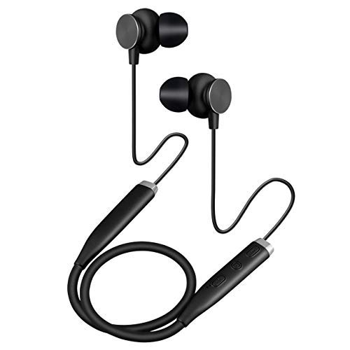 CS Wireless Headsets in-Ear Bluetooth Headphones Lightweight Hanging Earphones Sports with Noise Canceling Earbuds Built-in Mic HD Sound for iOS Android