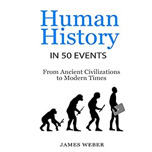 Human History in 50 Events: From Ancient Civilizations to Modern Times Hörbuch