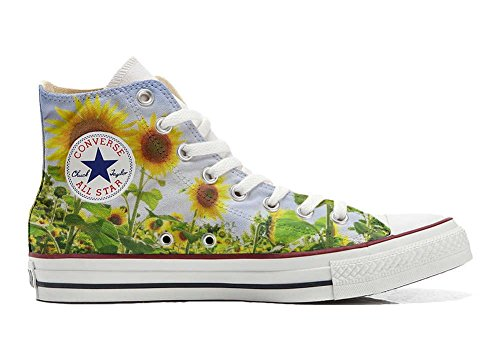Artesano All Customized Converse personalizados zapatos Star Girasole Producto PY6nwFSq