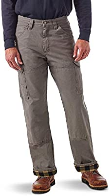 Wrangler Riggs Workwear Mens Flannel Lined Ranger Pant