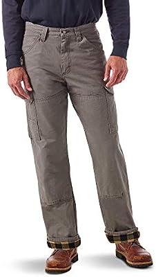 Wrangler Riggs Workwear Mens Flannel Lined Ranger Pant