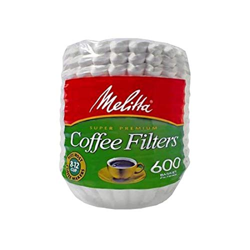 Best Paper Coffee Filters - Melitta 600 Coffee Filters, Basket, Pack
