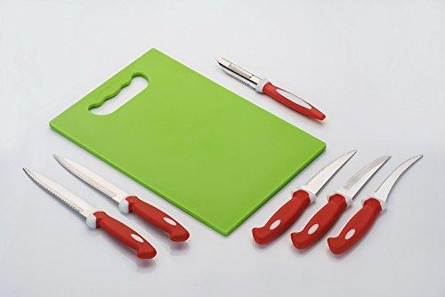 Amiraj Plastic Cutting Tool Set, 7-Pieces, Multicolour