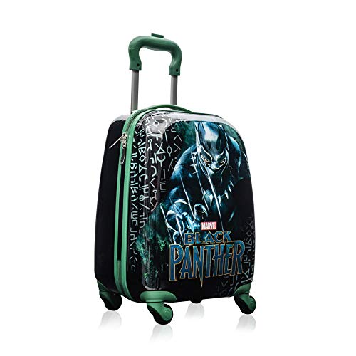 Marvel Black Panther Kids 18 Inch Spinner Carry On Travel Luggage for Boys -