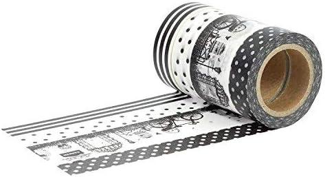 set di nastro per mascheratura per bambini e progetti fai da te Papierdrachen per la decorazione di bullet journals e regali nastro adesivo di carta Washi Tape