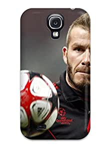 2894219K46995662 Hot Design Premium Tpu Case Cover Galaxy S4 Protection Case(david Beckham)