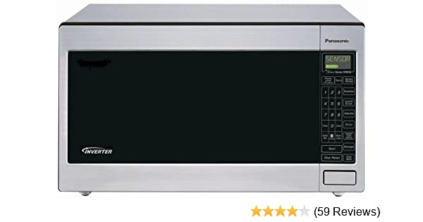 Panasonic NN-T945SF 2.2-Cubic-Foot 1250-Watt Microwave Oven with Inverter Technology