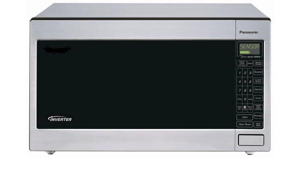 Panasonic NN-T945SF - Horno microondas con tecnología Inverter ...