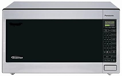 Panasonic NN T945SF 22 Cubic Foot 1250 Watt Microwave Oven With Inverter
