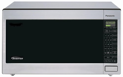 Panasonic NN-T945SF 2.2-Cubic-Foot 1250-Watt Microwave Oven with Inverter Technology
