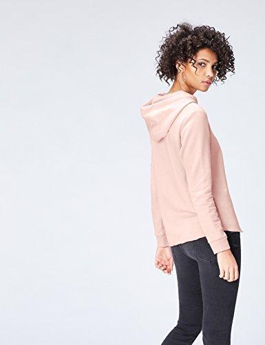 Find Sweat À shirt Rose Capuche blush Femme wSp7qPTw