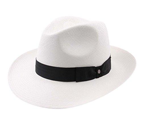 Stetson Men's Philadelphia Panama Fedora Hat Size S by Stetson