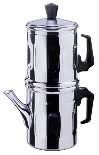 Ilsa Neapolitan 6-Cup Aluminum Coffee (Drip Coffee Pot)