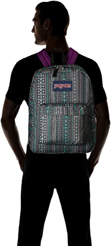 JanSport Superbreak Back Pack Seafoam Green Camo Stripe One Size by JanSport (Image #4)