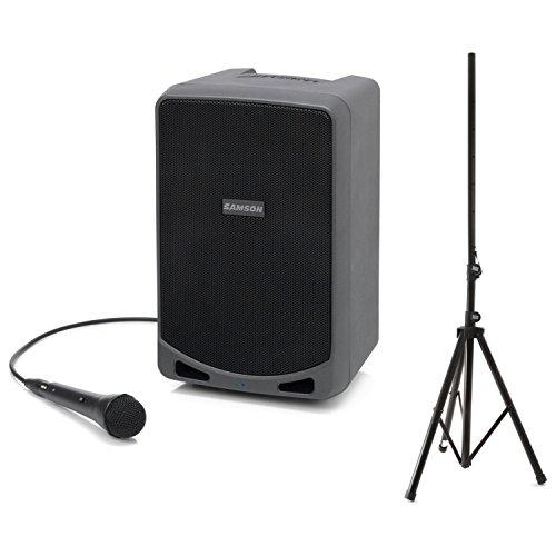 Samson SAXP106 XP106 100 Watt Portable PA w/ Speaker Stand