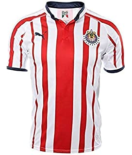 bff5c764d Amazon.com  PUMA Chivas Home Kids (Boys) Soccer Jersey 2018-19  Clothing