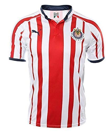 4193c3cd9 Amazon.com   CUSTOM Printing Chivas de Guadalajara Home Jersey 2018 ...
