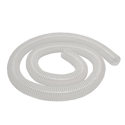 DCT Dust Collection Hose 2.5 Inch x 10 Foot  Flexible Dust Collector Hose for Woodshop Woodworking Tools Wood Sawdust