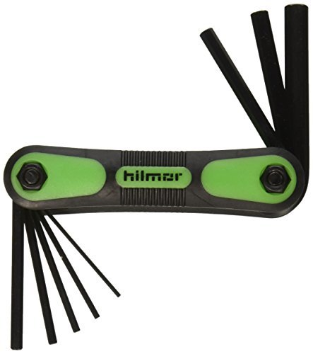 hilmor 1891472 Hex Key Folding Set Metric [並行輸入品] B078XLD4TG