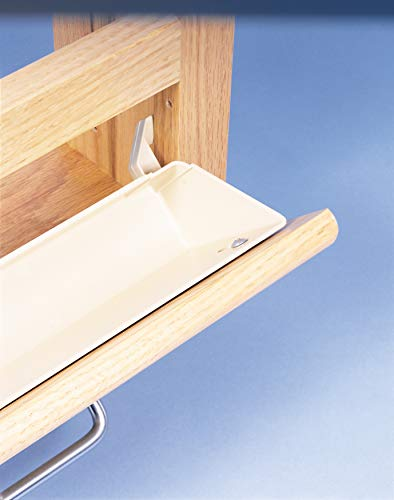 Rev-A-Shelf 11 in Tip-Out Trays w/Tab Stops, Almond