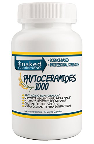 Professional Strength Phytoceramides-Hair Skin Nails-Professional Grade Pure Clean Naked Ingredients (90 Capsules) by Naked Supplements (Image #5)