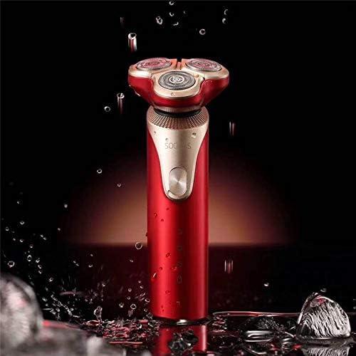 Máquina De Afeitar Eléctrica Impermeable Recargable Trimmer De ...