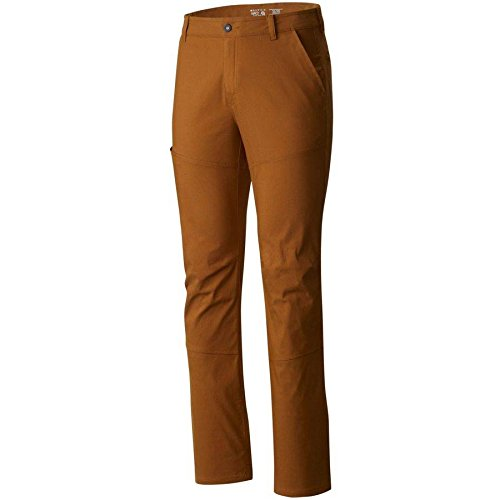 Mountain Hardwear Mens AP Pant for Hiking, Climbing, Commuting and Office - Golden Brown - 31W x 32L